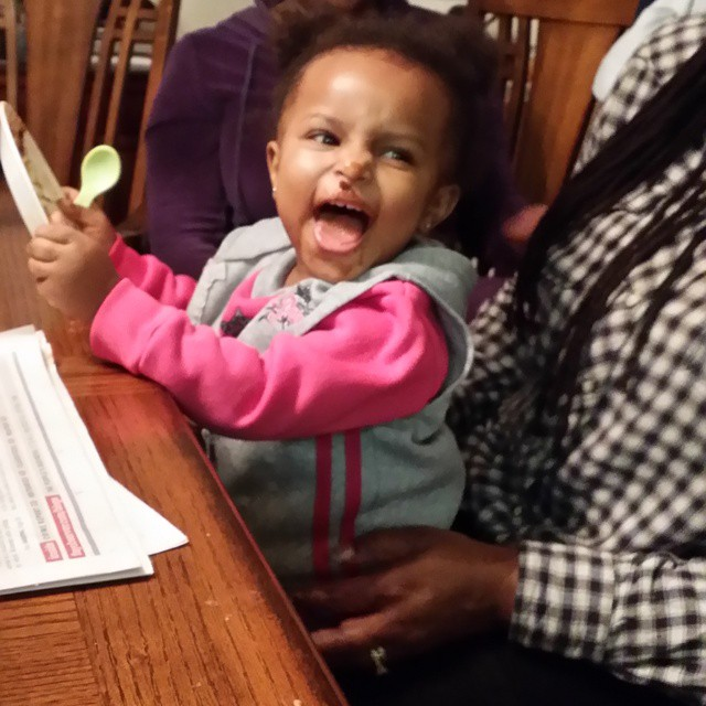 """My daddy's chili is amazing!!"" #mayaomowale"