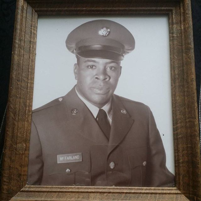 Sgt. James W. McFarland served two tours of duty each in the Korean and Vietnam Wars as an infantryman and a tank commander. Remembering my father and all veterans on Veterans Day.
