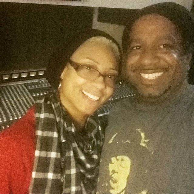 My superstar sister just came through #EkoBase and SMASHED these vocals! Thanks @xosteffchrisxo for TURNING IT OUT!! #detroitmusic #thenewrecordisgonnabebangin #TheRightKindOfCrazy