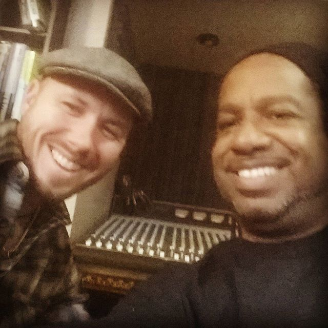 The amazing Mr. Brett Lucas fired up some blazing blues rock guitar for the new Nadir record at #EkoBase today. As advertised, he is a fantastic player and an even finer gentleman! #detroitmusic #21stCenturyBlues #CrossTheLineOfLove