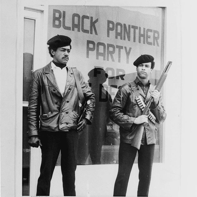 The Black Panther Party for Self Defense was founded 50 years ago this October. Their first order of business was to initiate ARMED patrols in the African American community of Oakland, California in an effort to protect US CITIZENS from brutality and excessive force by THE POLICE. 50 years later we are still being murdered in COLD BLOOD in the streets. Where is the progress, America? Are we back to a state where we need to patrol our own communities again to protect each other from those who are sworn to serve and protect US?? #BlackPantherParty #BlueLights