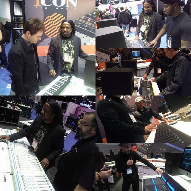 My political act for Jan 20, 2017. Out here helping people make the world a better place with their music. #nammshow2017 @iconproaudio #nammbooth6000