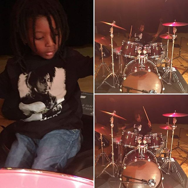 Play on, drummer...#milesomowale #OmowonderTwinsPhotos by @zeinawashington