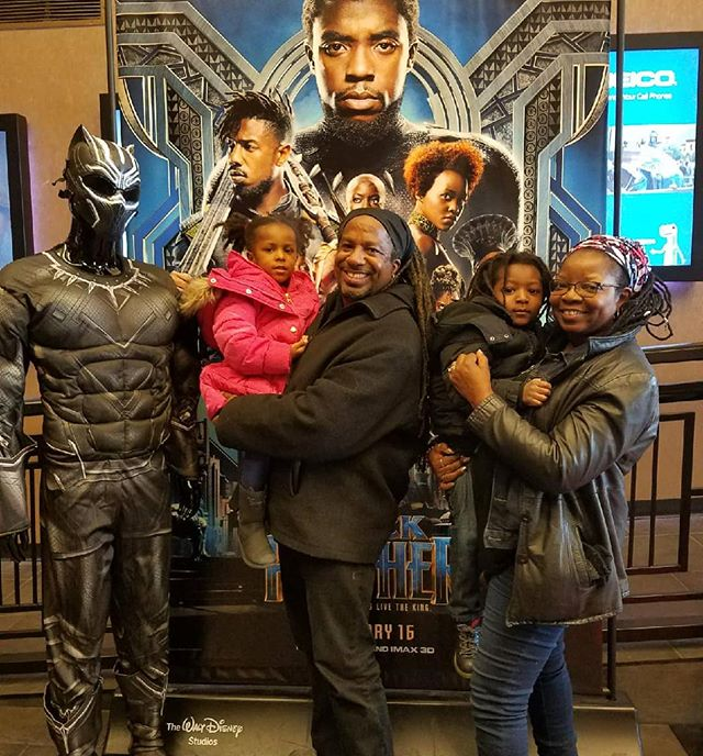The Omowale Tribe in 3D...#WakandaForever