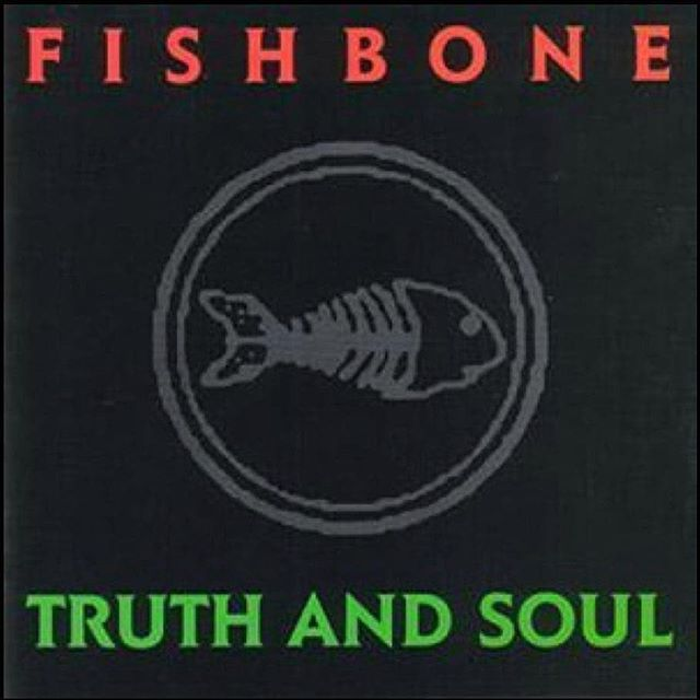 """This record was SO IMPORTANT musically, politically, culturally... EVERYTHING.repost via @instarepost20 from @fishbonesoldier 30 years ago today on September 13, 1988 the original Fishbone released their seminal and highly influential LP """"Truth and Soul"""" with members Angelo Moore, Norwood Fisher, Chris Dowd, Walter Kibby, Kendall Jones, and Phillip Fisher & produced by David Kahne. ...#Fishbone #FishboneSoldier #TruthAndSoul#FreddysDead #MaAndPa #PouringRain #DeepInside #MightyLongWay"""
