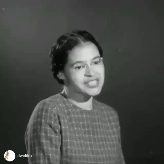 Thank you, Mrs. Parks. • • •This was only 61 yrs ago...segregation...Thank You Mrs. Parks Dec 1st 1957...#shestoodupforusbysittingdown#BlackHistoryisAmericanHistory #@Regran_ed from @blackhistory -  Rosa Parks: A Time for Freedom (1957).View the full video on IGTV. - #tellingourstories #dwcfilm #BlackWomenrepost via @instarepost20 from @dwcfilm #Repost @nicoleariparker