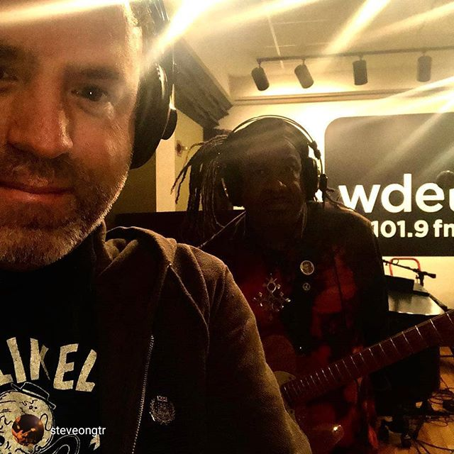 repost from @steveongtr 18 more days til Steff's new album!! You are all going to like!!! Promoting today at WDET thank you Ann Delisi!!! @xosteffchrisxo