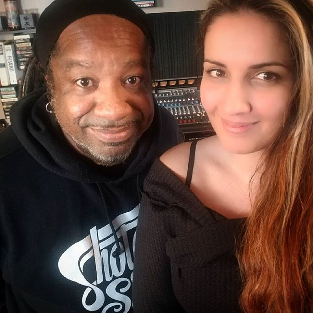 Another great writing session with @marianarisquezqueen last week. #toomuchfun #detroitmusic #kisslikeaholiday #latinsoul #latinfunk #detroittovenezuela