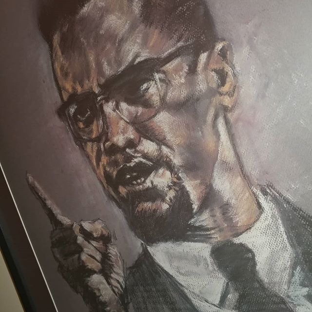 """You can't separate peace from freedom because no one can be at peace unless he has his freedom."" - El Hajj Malik El Shabazz aka Malcolm X#EveryDayIsMalcolmXDay #MalcolmX"
